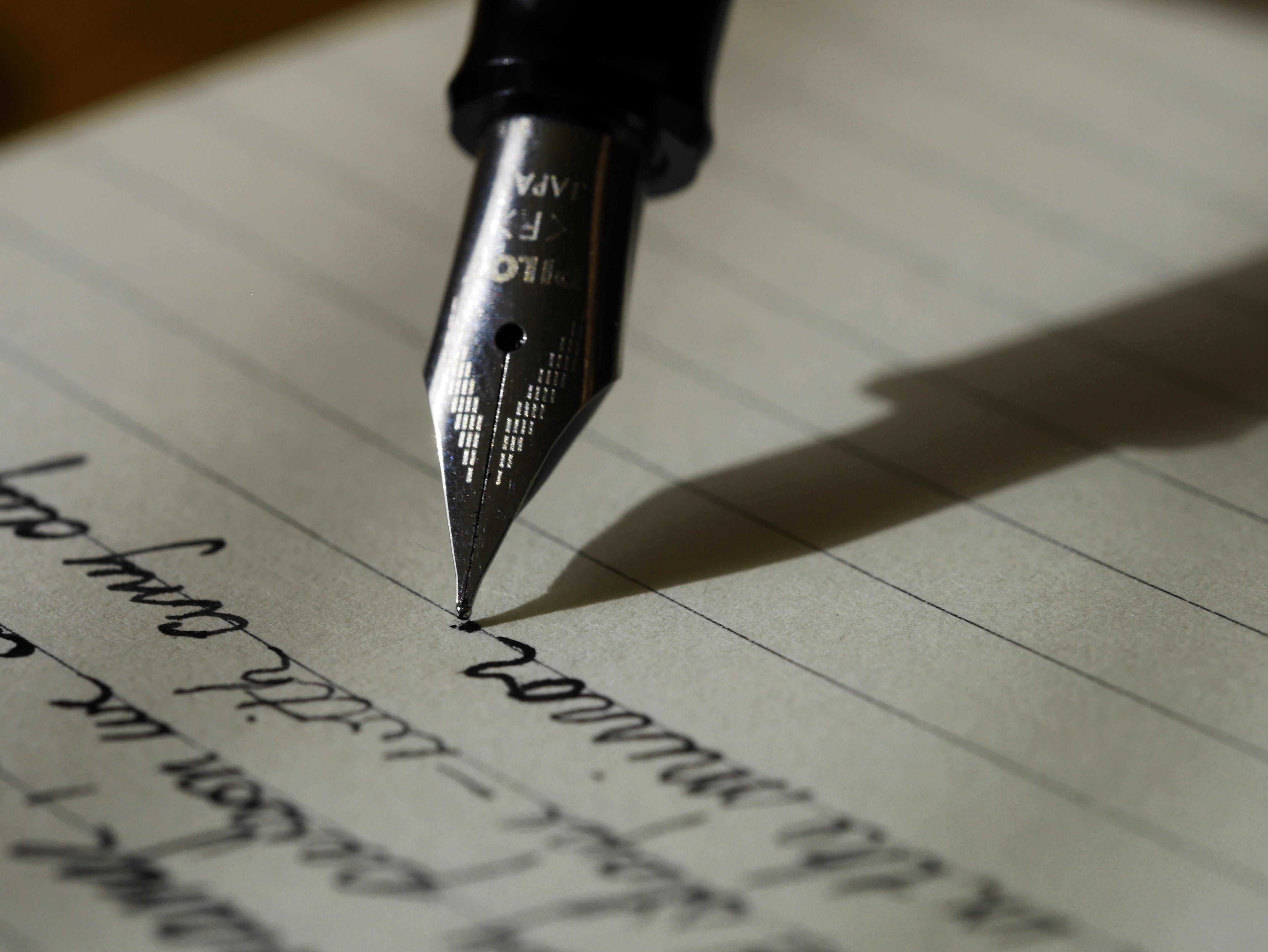 Le CV manuscrit